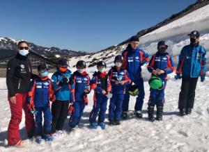 clases de esquí San Isidro